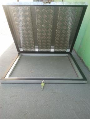Tampa de alumínio para caixas d'água Prolider